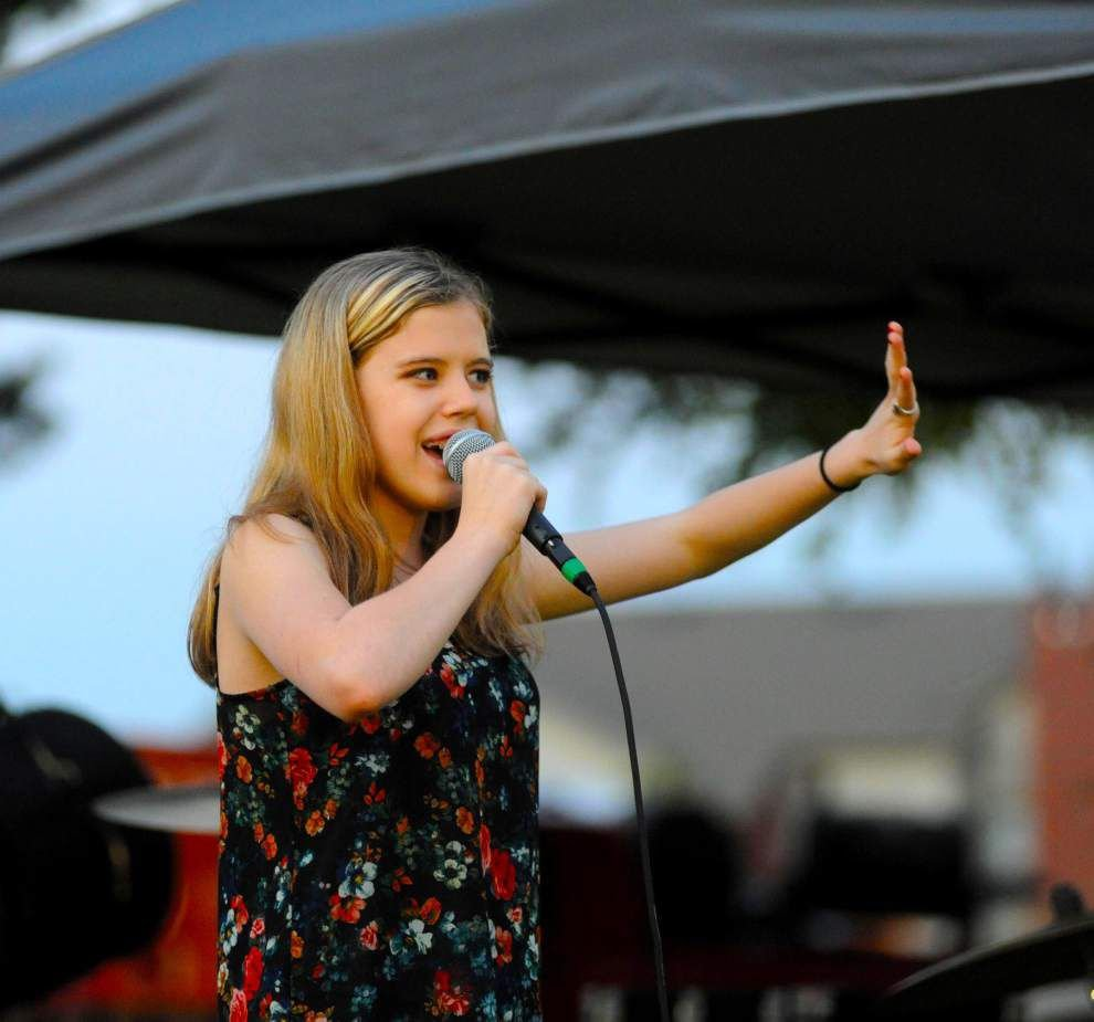 Zachary teen continues hitting high notes _lowres