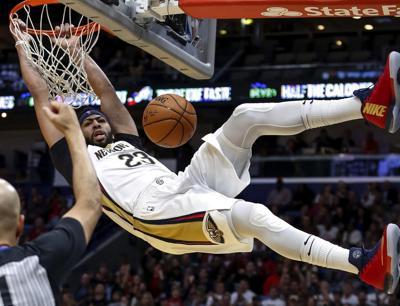 APTOPIX Clippers Pelicans Basketball