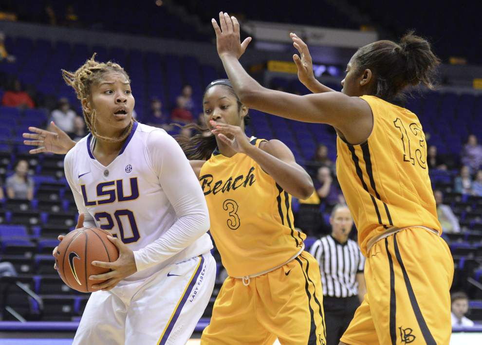 LSU women at home for Texas Southern _lowres