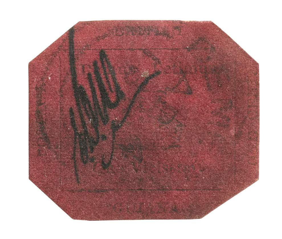 Rare stamp could set record at NYC auction _lowres