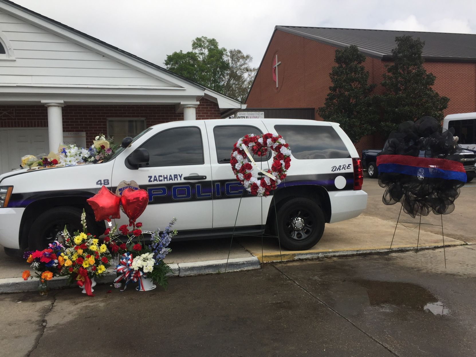 Slain Zachary officer remembered for u0027serviceu0027 u0027braveryu0027