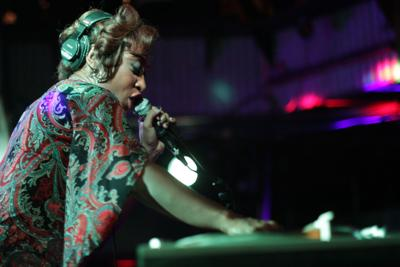 dj soul sister by larry blossom mic.JPG (copy)