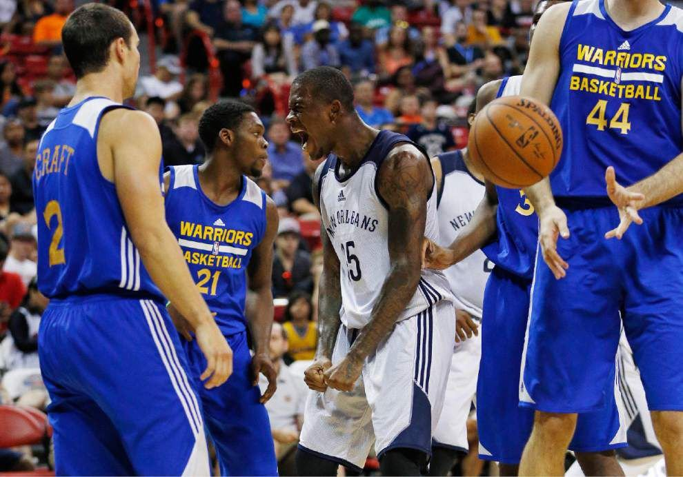 Summer league: Pelicans beat Warriors 100-91 to reach semifinals in Las Vegas _lowres