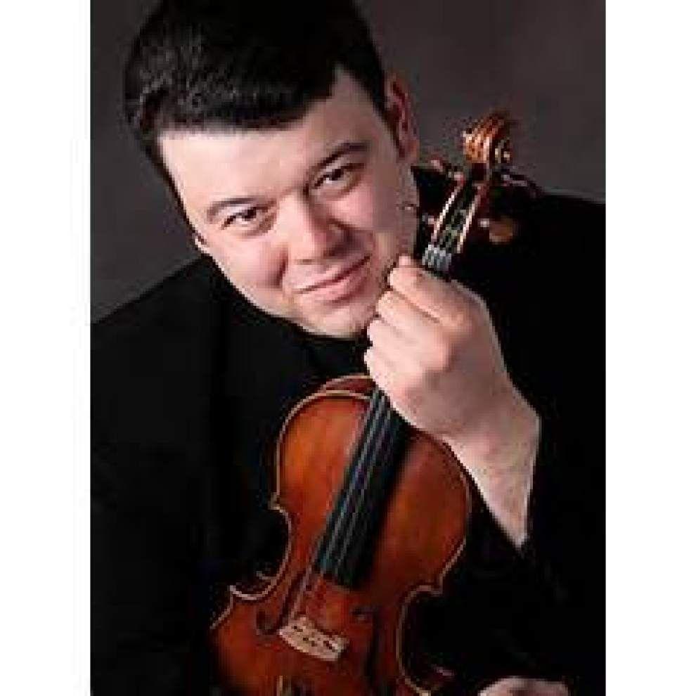 LPO to feature violinist Vadim Gluzman Friday _lowres