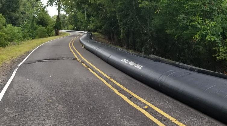 Some water inflated barriers installed in Iberville before judge ordered halt, attorney says