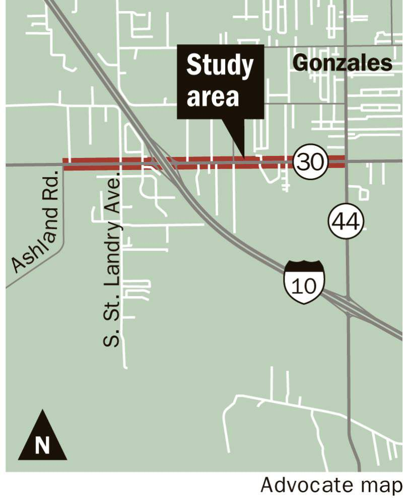 Plans for busy La. 30 corridor in Gonzales include possible roundabouts, lane widenings, new I-10 interchange _lowres