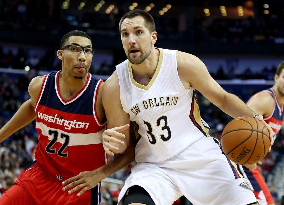 Ankle injury sidelines Pelicans' Ryan Anderson for Friday night's game at Minnesota _lowres