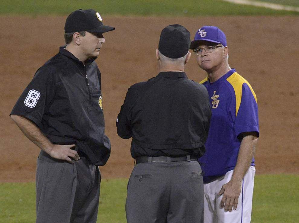 Behind Jared Poché's gem, LSU baseball beats Georgia 2-1 _lowres