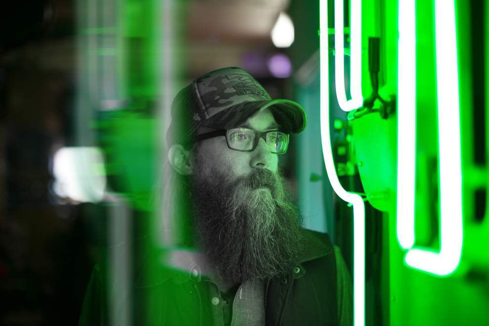 Facets of Faith: Crowder bringing front porch — and lasers — to Greenwell Springs _lowres