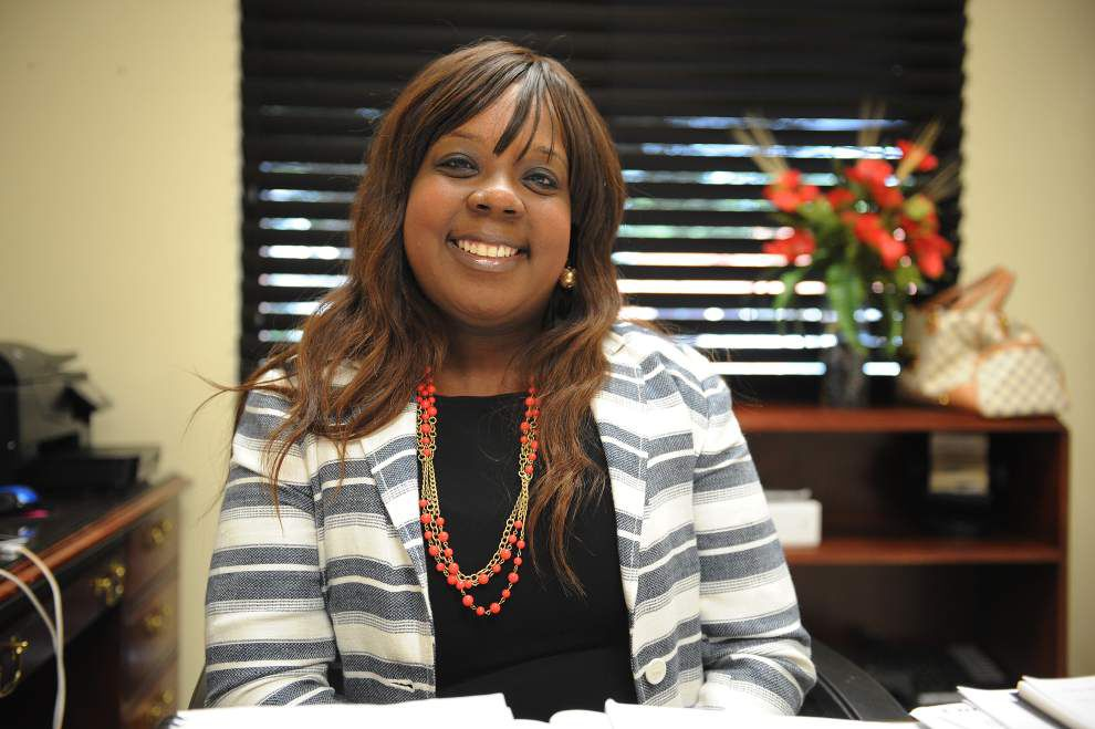 Skyra Rideaux, new executive director of Lafayette Community Health Care Clinic, talks about job, community _lowres