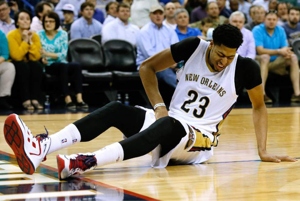 Pelicans rule out Anthony Davis (sprained ankle) for Thursday's game at Phoenix _lowres