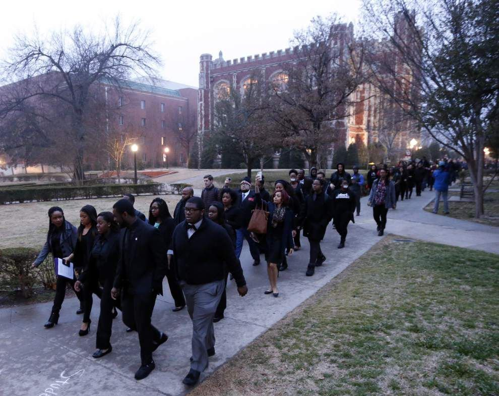 Fallout continues at University of Oklahoma over racist video _lowres