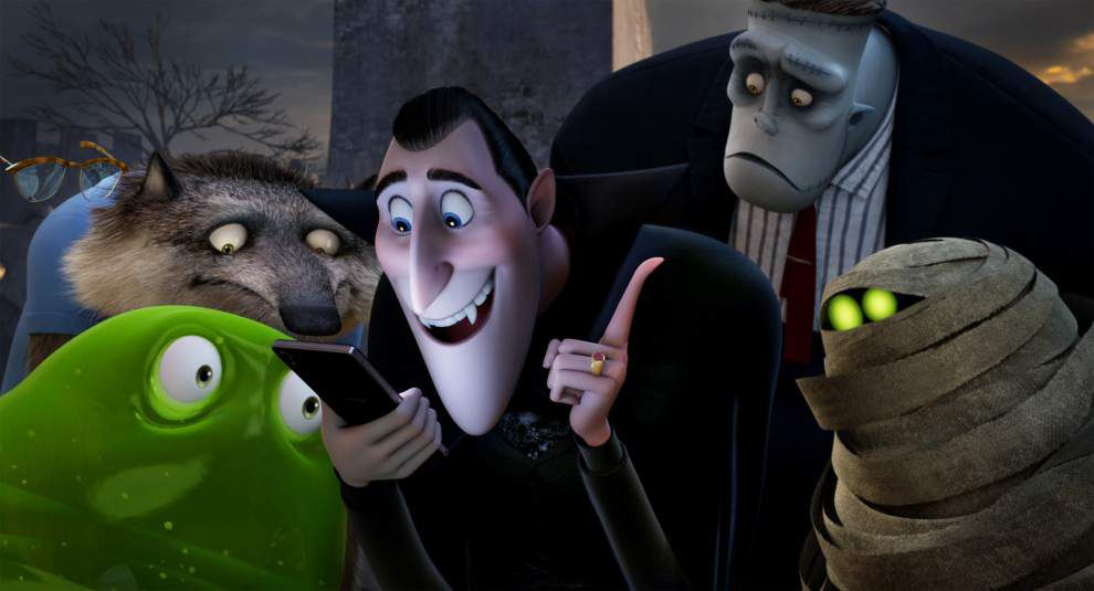HAVE RESERVATIONS  'Hotel Transylvania 2' reunites the Drac Pack for some yucks and more bucks _lowres