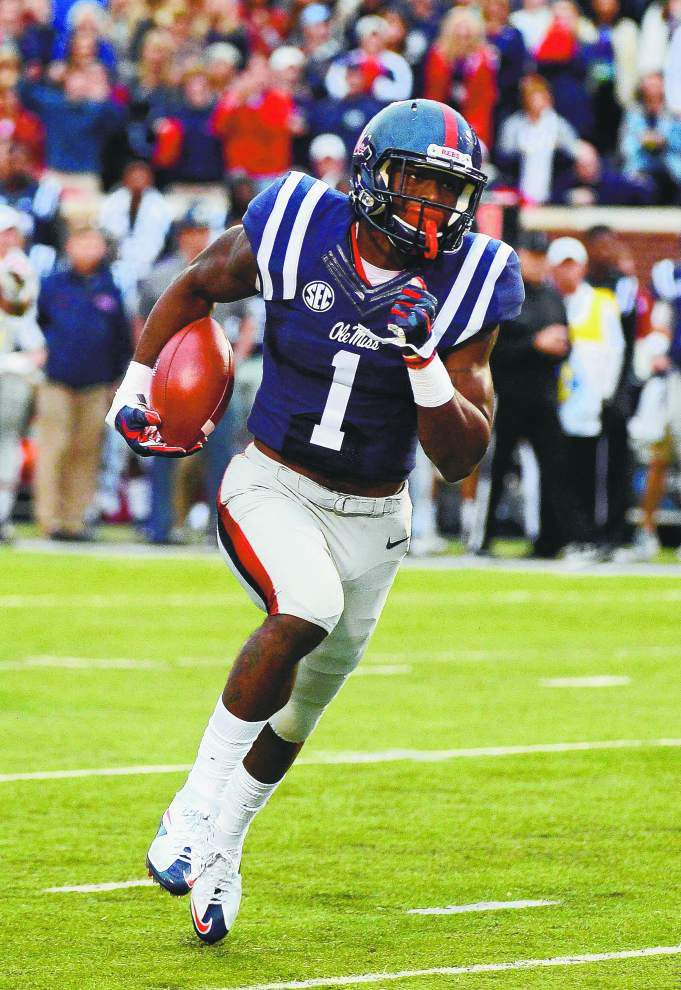 Rated the NFL draft's top receiver, Ole Miss' Laquon Treadwell not bothered by questions on his speed _lowres