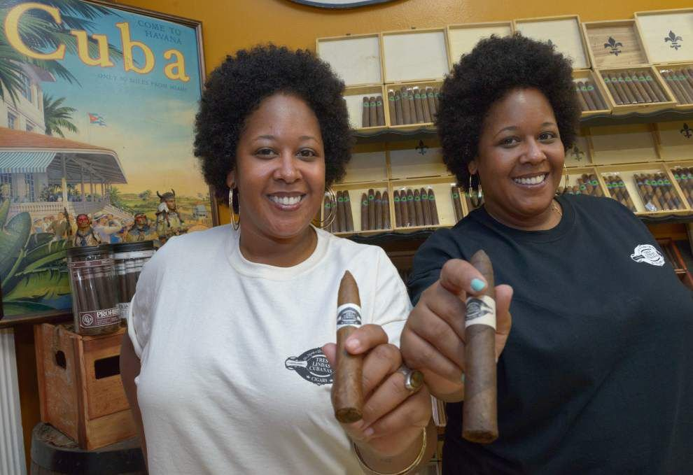 Twin sisters from Miami eye New Orleans as a market for their cigar company _lowres