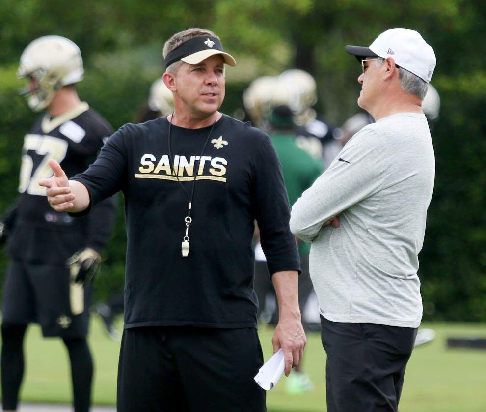 Concerns about Saints QB Drew Brees being distracted by contract talks? Coach Sean Payton not buying it _lowres