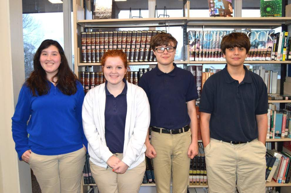 Thirteen West Feliciana students qualify for state literary rally in April _lowres
