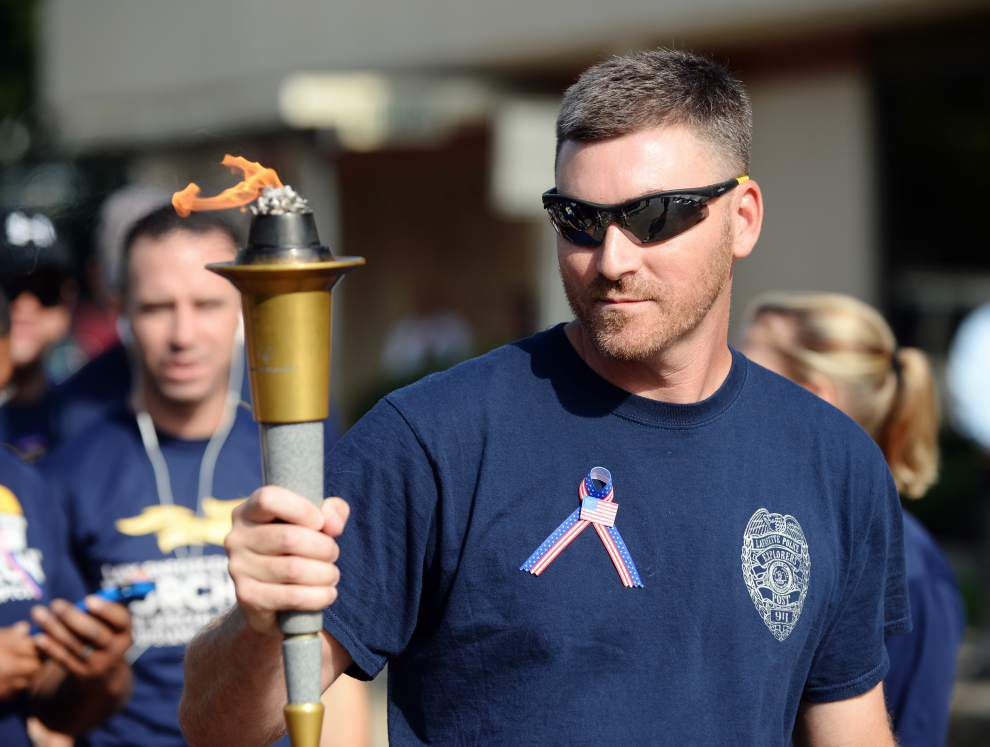 Photos: Special Olympics torch _lowres