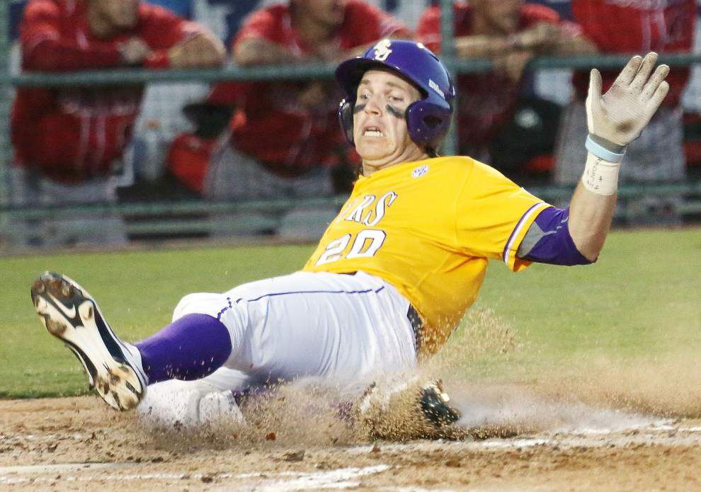 Alex Bregman's huge night lifts LSU to an 8-6 win over UL-Lafayette _lowres