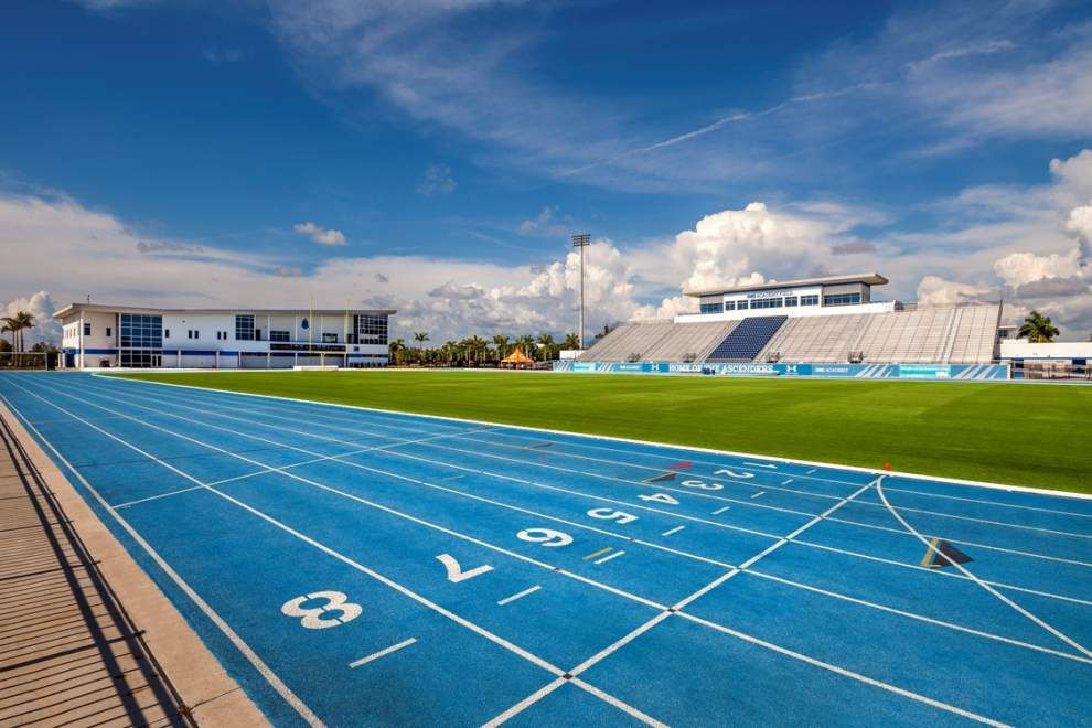One-stop shop:' IMG Academy, rapidly becoming college football recruiting  mecca, unlike any other high school in world   LSU   theadvocate.com