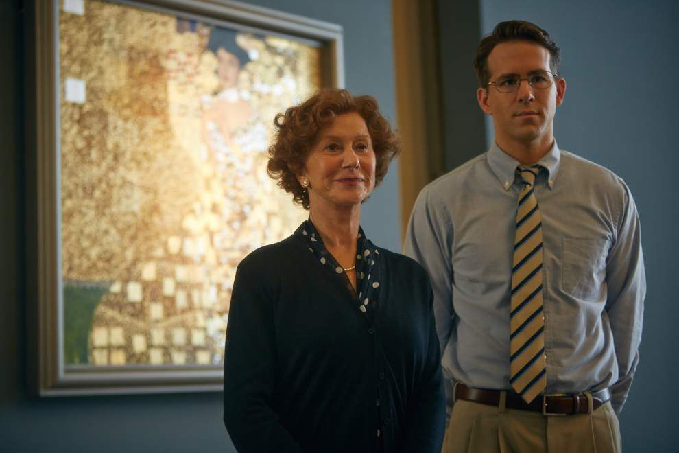 Letter: Movie critic fails to recognize greatness of 'Woman in Gold' _lowres