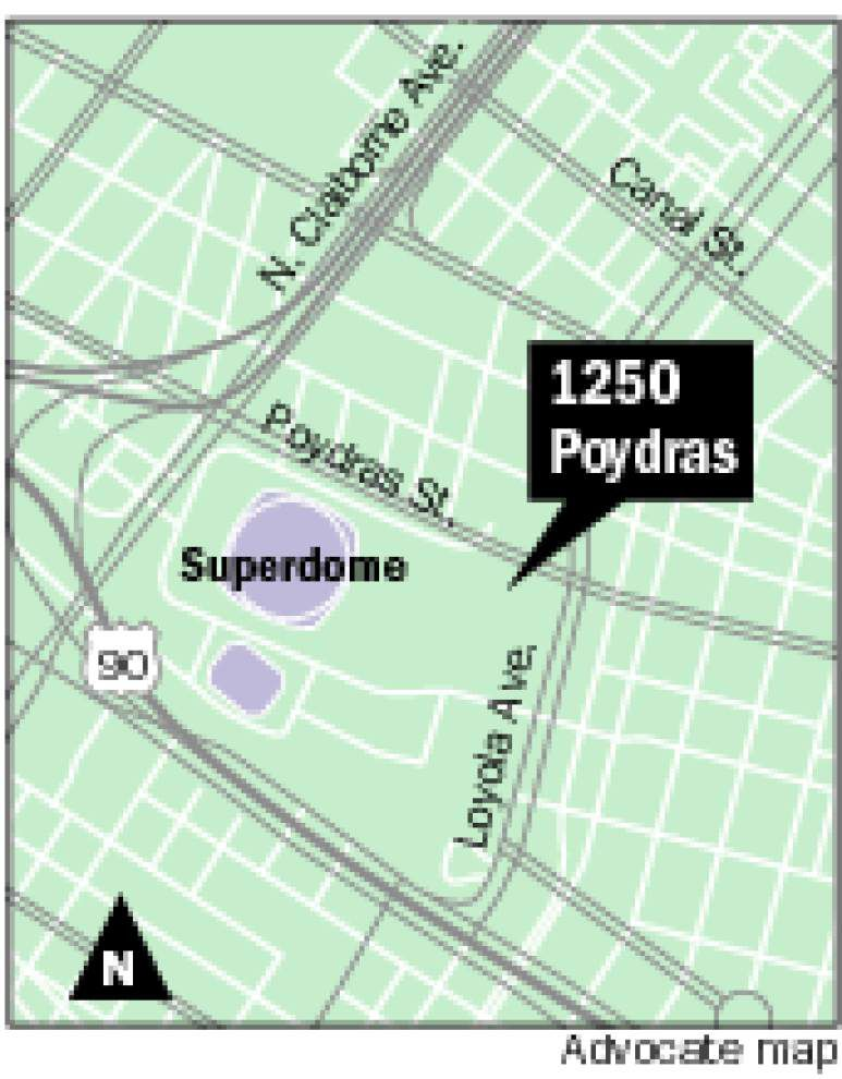 Part of Poydras Street office building to become a hotel _lowres