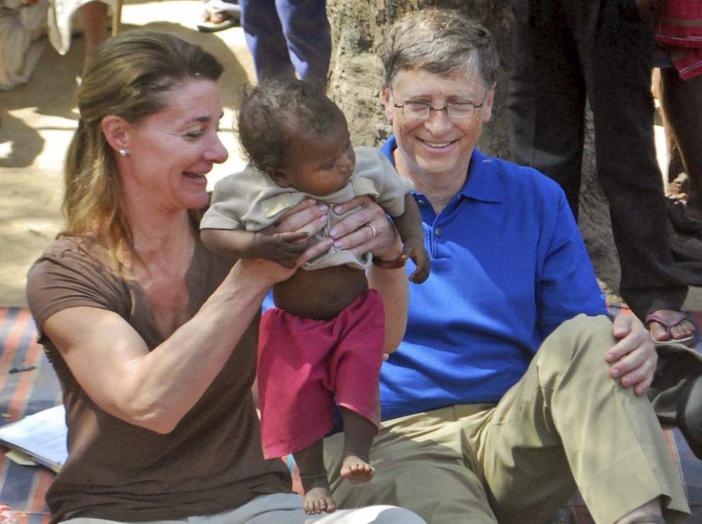 Gates says poor countries not doomed to stay poor _lowres