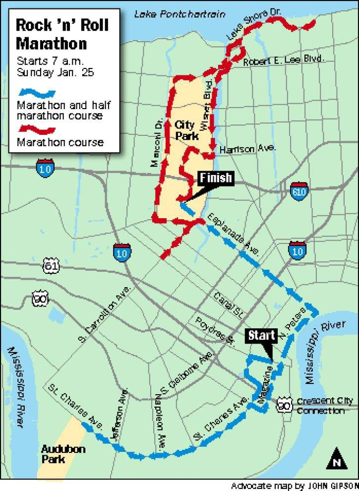 Rock 'n' Roll New Orleans Marathon set for Sunday _lowres