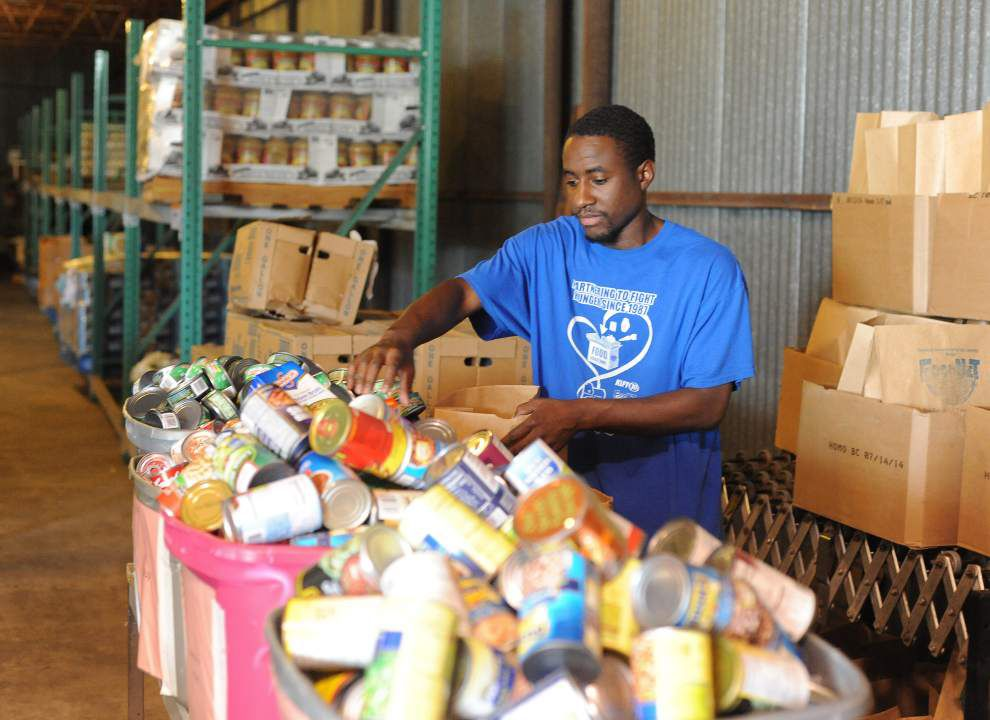 Acadiana food banks seeking donations as supplies dwindle _lowres