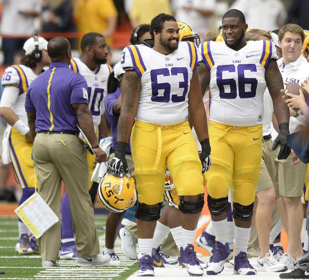 One week to go: LSU's retooled offensive line looking for two final pieces