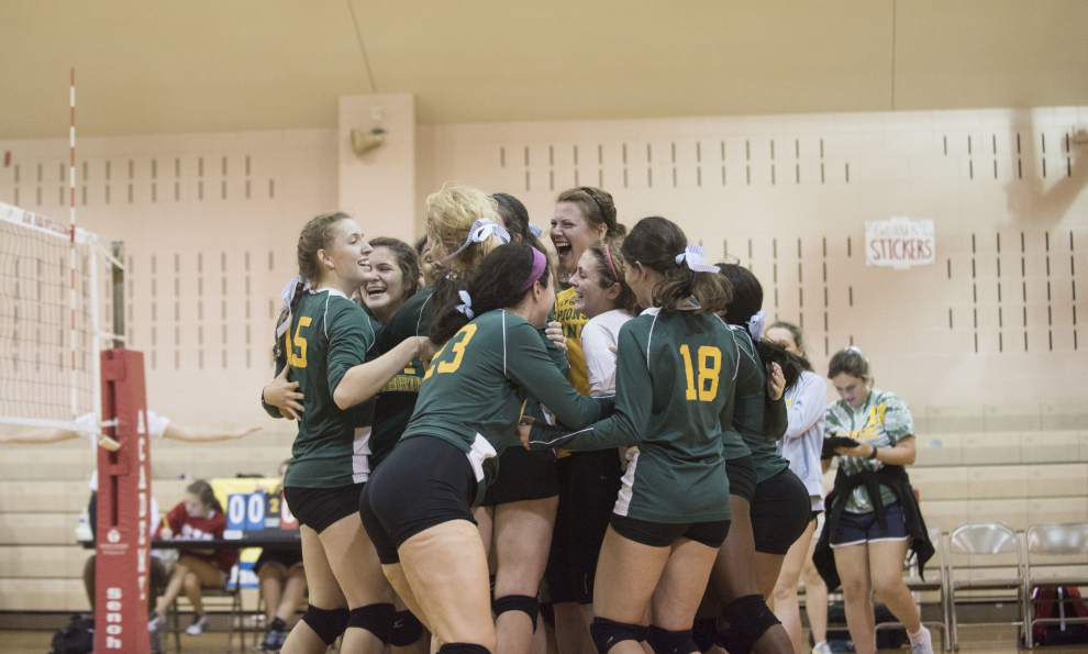 Cabrini sweeps St. Joseph's for Red-Hot Sticker Volleyball Classic title _lowres