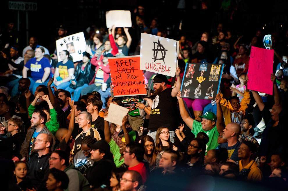 Photos: Lafayette's Cajundome hosts WWE Smackdown _lowres
