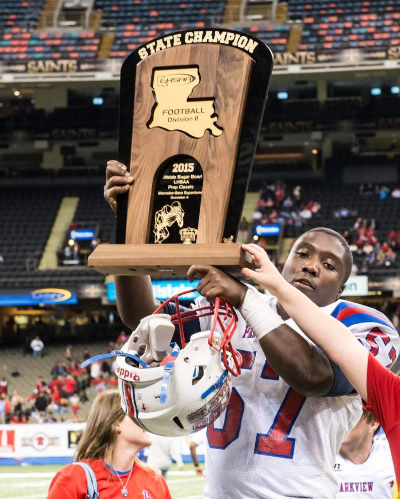 3 high school football state champs in Baton Rouge _lowres