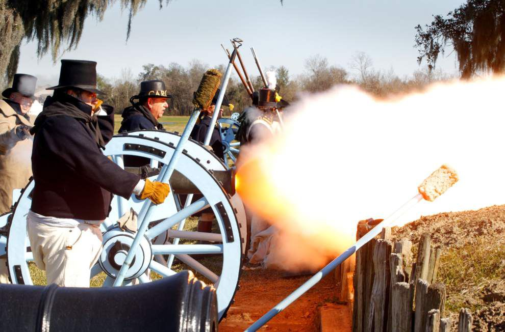 Hands-on activities, re-enactment spotlighted at this year's Battle of New Orleans tribute _lowres