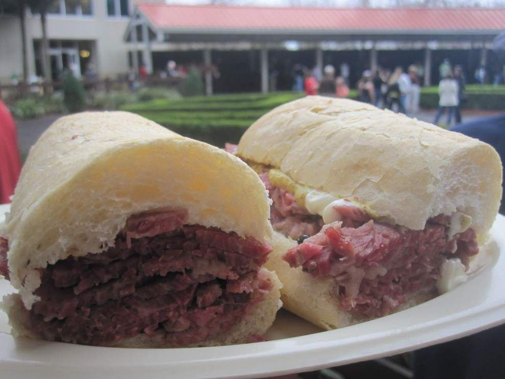 Ian McNulty's Digging In: Here's a safe bet for a great po-boy at New Orleans Fair Grounds _lowres