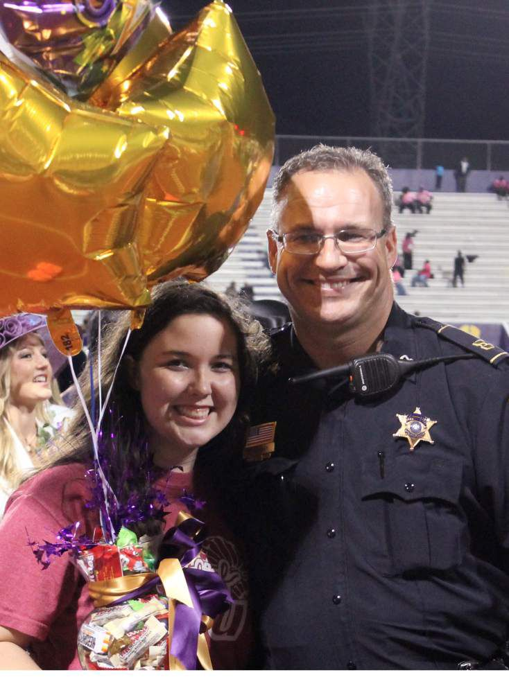 Hahnville High School honors its student of the year _lowres