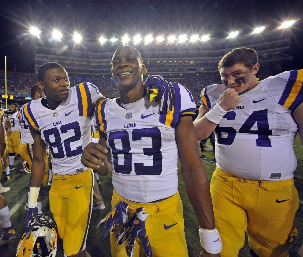 'Thankful and blessed': LSU fullback J.D. Moore earns scholarship _lowres