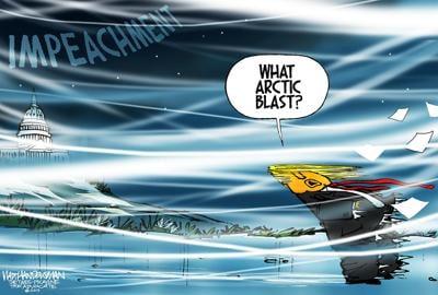 Walt Handelsman: Arctic Blast