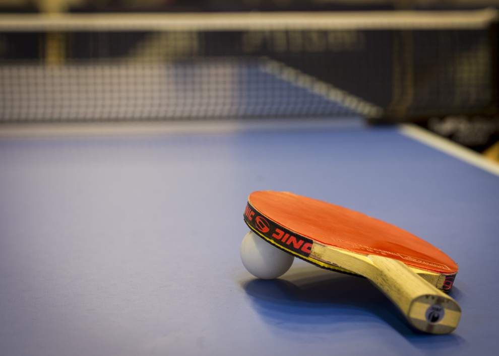 'It's a learning process': At Baton Rouge Table Tennis Club, both experienced, novice players learn new skills _lowres