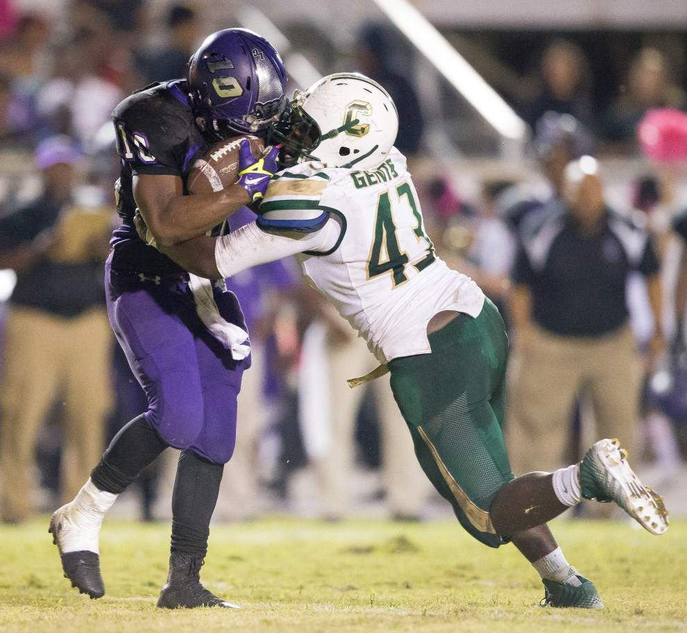 Crowley, Notre Dame lead Acadiana football rankings _lowres