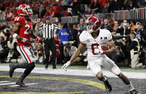 Tua Tagovailoa told Devonta Smith they'd 'do big things' at Alabama this time last year