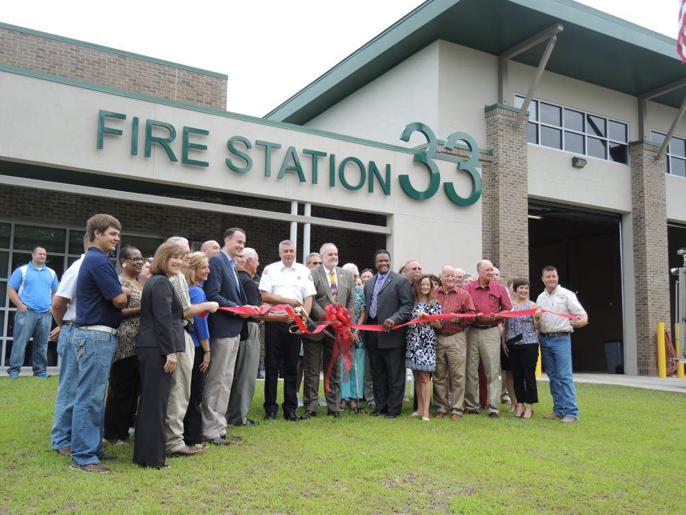 New fire station opens in Prairieville _lowres