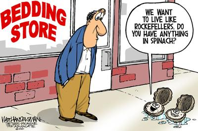 With over 500 entries in Walt Handelsman's latest Cartoon Caption Contest, you have GOT to read these hilarious punchlines!