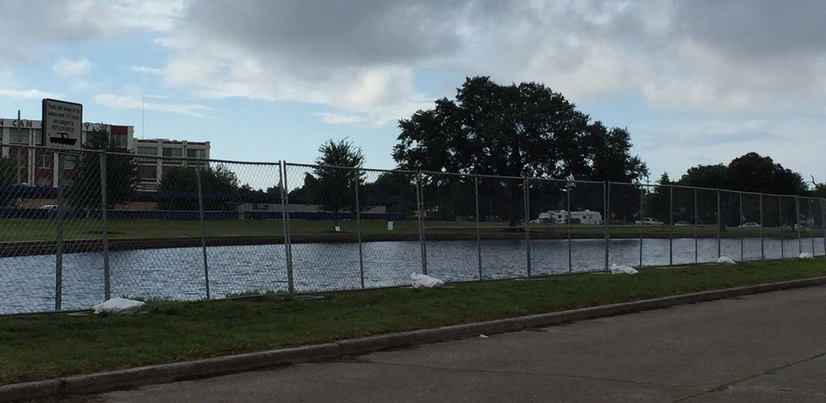 Bayou St. John fenced off in advance of annual Bayou Boogaloo festival_lowres
