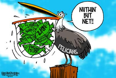 Walt Handelsman: Nuthin' But Net!