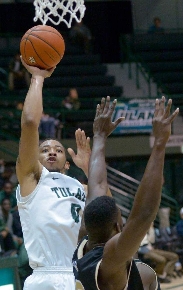Senior guard Louis Dabney made his mark with Tulane _lowres
