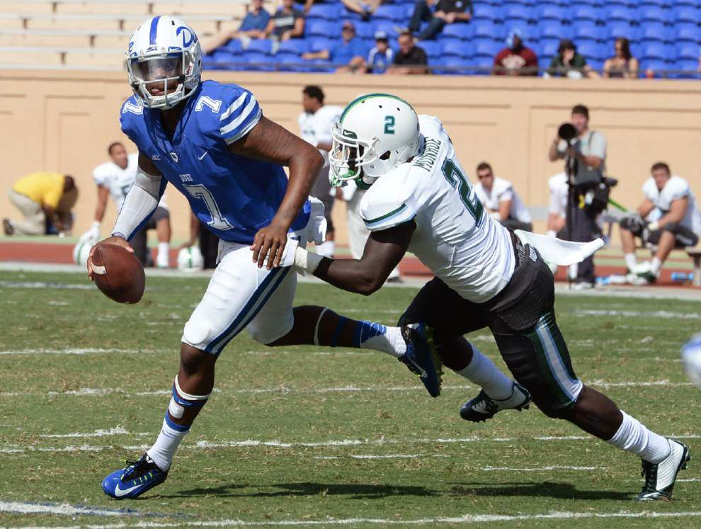 After loss at Duke, Tulane searches for positives _lowres