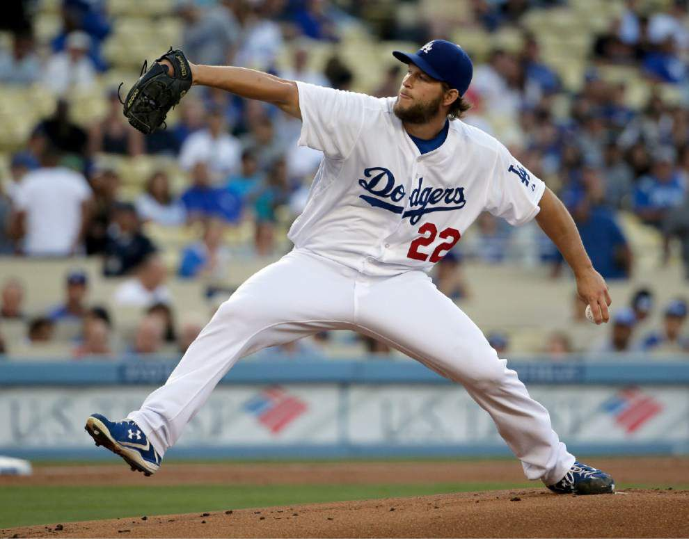 Dodgers' Clayton Kershaw throws no-hitter _lowres
