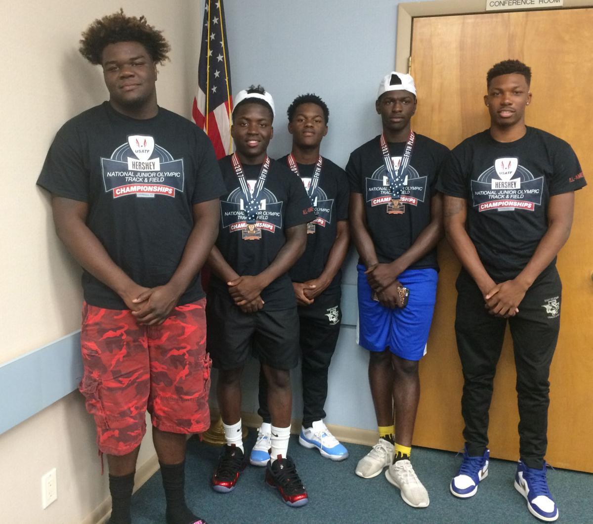 East Fel athletes.JPG