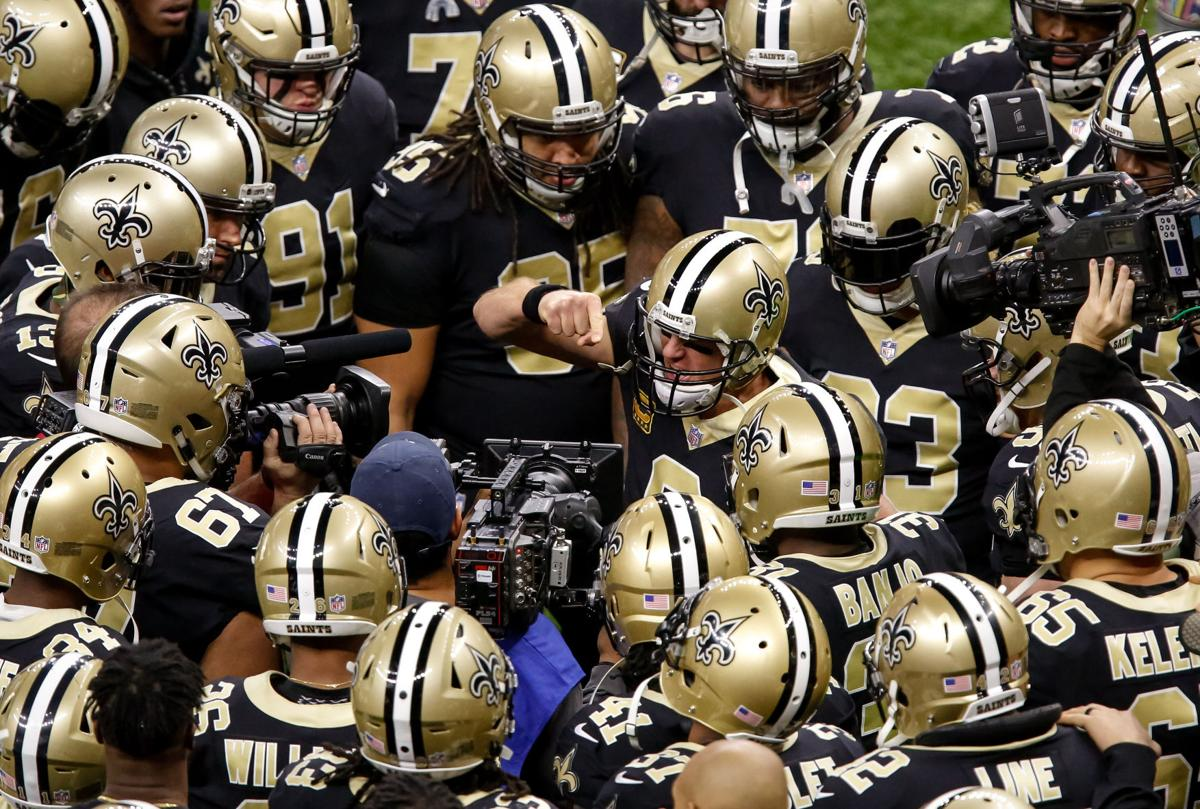 484e10cce Food and football fuel countless traditions. The Saints players have their  own.